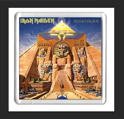 iron maiden album art fridge magnet, powerslave