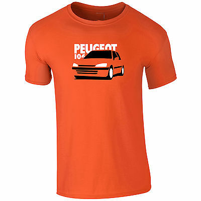 Mens T-Shirt Peugeot 106 Inspired Gift For Dad, Uncle ETC
