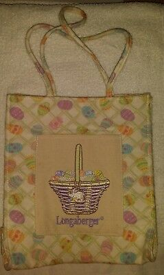Longaberger Easter Homestead Tote Bag Purse