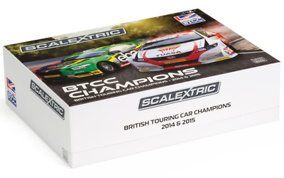 Scalextric C3694A BTCC 2014 Champions Twin Set Limited Edition 5000 pcs NEW
