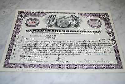 Stock Certificate - UNITED STORES CORPORATION – DELAWARE 1932