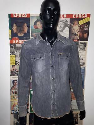 CAMICIA SHIRT VERSACE  jeans couture  VINTAGE  uomo tgl S  camisa chemise hemd