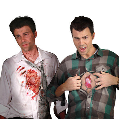 Digital Dudz I Wound Shows Beating Heart + Mobile Phone App Halloween Costume