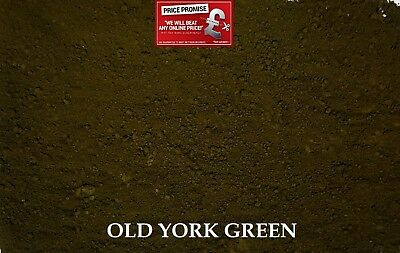 OLD YORK GREEN  Dye/Pigment for Concrete, Render, Mortar & Cement