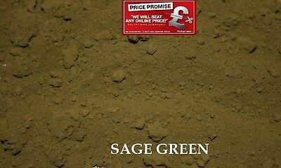 SAGE GREEN Dye/Pigment for Concrete, Render, Mortar & Cement