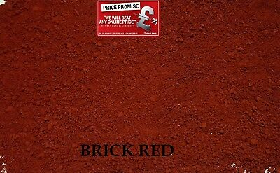 BRICK RED  Dye/Pigment for Concrete, Render, Mortar & Cement