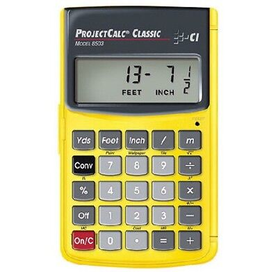 The ProjectCalc Classic | Feet-Inch-Fraction, Meter Project Calculator | 8503
