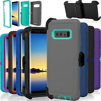 Samsung Galaxy Note 8 Case Cover Shockproof (Fits Otterbox Defender Belt Clip)