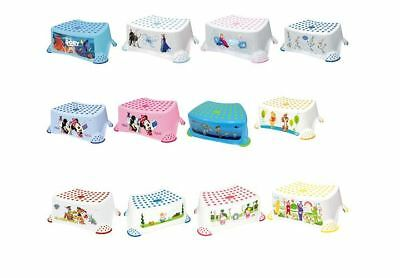 Solution Step Stool Disney Characters Baby Toddler Aids Toilet Training