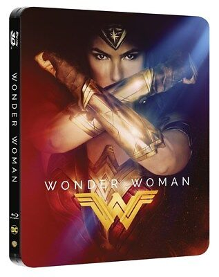 Wonder Woman 3D (4000 ONLY HMV Exclusive Limited Ed Blu-ray Steelbook) [UK