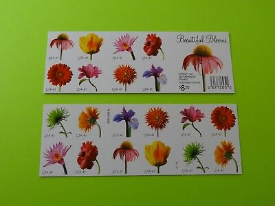 Stamps US * SC 4185a * Beautiful Blooms * Booklet of 20 * MNH * 2007