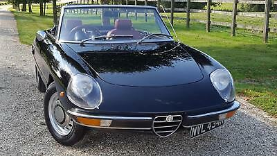 1971 Alfa Romeo Spider Spider   Rare  And  Desirable  Model  Has  Had  Much  Exp