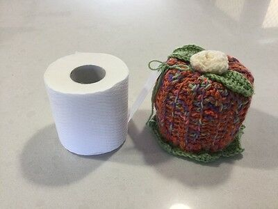 Retro/Vintage Style Hand Crochet, Small Size Toilet Roll Cover