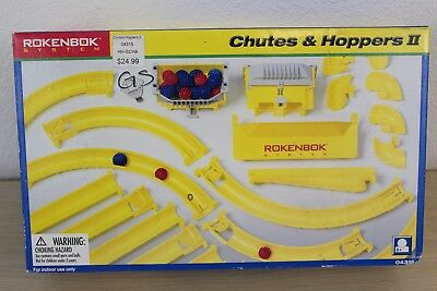 Chutes & Hoppers II Set #04315 Rokenbok System Building 2000 NEW in BOX