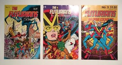 The Futurians by Dave Cockrum #1-3 NM (COMPLETE SET)!