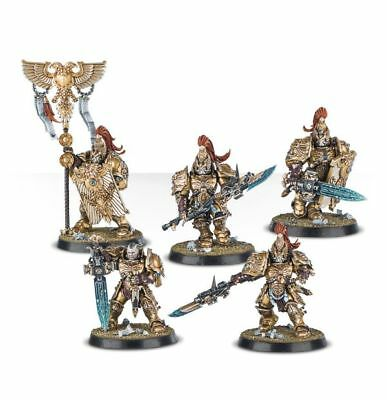 "WARHAMMER 40K Horus Heresy ""Talons of the Emperor"" CUSTODES (5 Models) NOS"