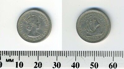 Bermuda 1983 10 Cents Elizabeth Ii Uncirculated British Colony