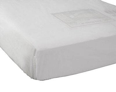 Abstract Fitted Plastic Mattress Cover for Portable Crib 24x38