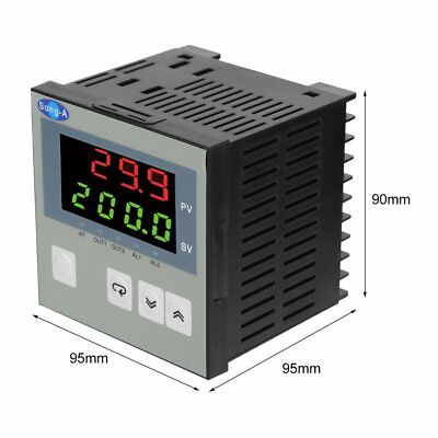 WK-01 Series 96*96mm Intelligent Temperature Controller PID Regulation AU