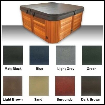 STOCK CLEARANCE-Australian Made lockable Hard Spa Cover -Various Sizes & Colours