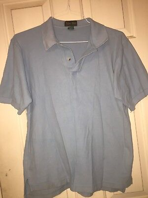 TIGER HILL POLO SHIRT MAROON 3 BUTTON SHORT SLEEVE 5XL NWOT