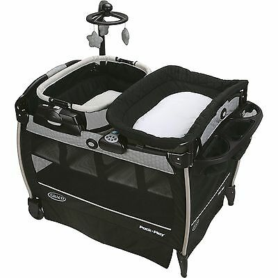 Graco Pack 'n Play Playard Nearby Napper Bassinet, Davis