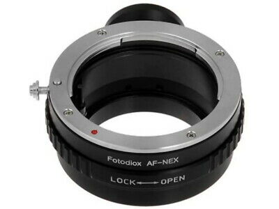 Fotodiox Lens Mount Adapter, Sony Alpha A-Mount Lens to Sony NEX E-mount NEW