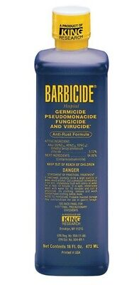 Barbicide Disinfectant Hair Solution 473ml Germicidal, fungicidal, virucidal