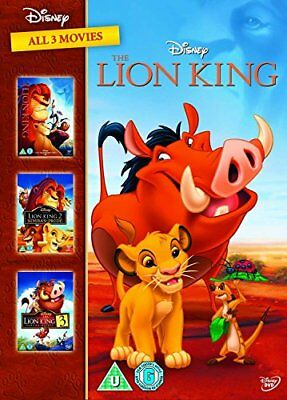 The Lion King 1-3 [DVD][Region 2]