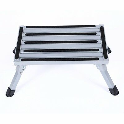Aluminium Alloy Step Stool Portable Folding Work Bench Platform Work Bench Stool
