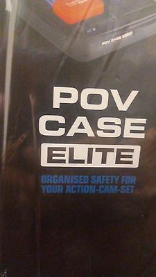 New SP Gadgets POV Case Elite Medium Black GoPro Hero Camera Protection Case M