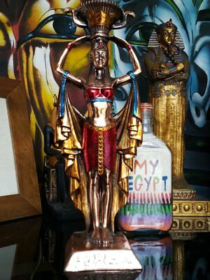 Brass-style-statue-isis-hand-made-in-egypt-imported-into-australia