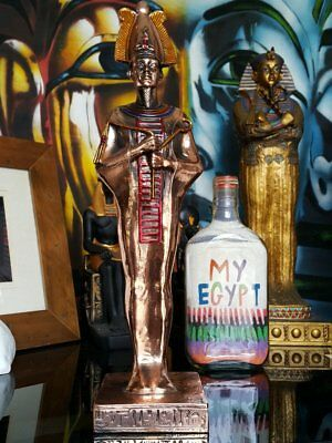 Brass-style-statue-osiris-hand-made-in-egypt-imported-into-australia