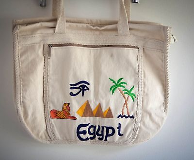egyptian-canvas-bag-pyramid-and-sphinx-scene-embroidered-made-in-egypt-import...