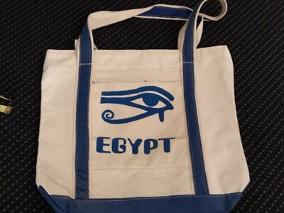 egyptian-canvas-bag-printed-blue-eye-of-horus-with-blue-fabric-inserts-made-i...