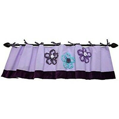 Harmony Window Valance, Purple by NoJo