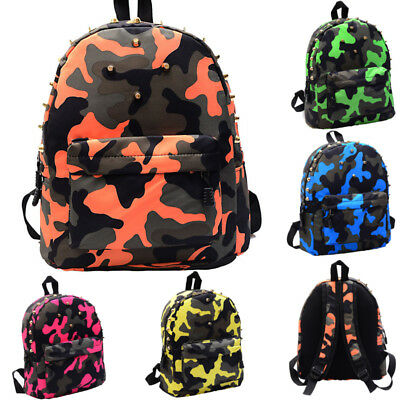 Fashion Kids Backpack Casual Travel Rucksack Bookbag Boys Girl School Bags Gift