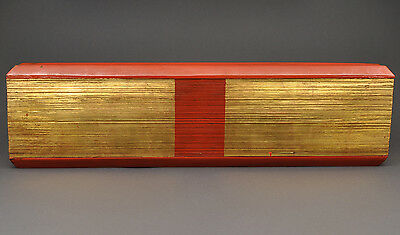 Antique Buddhist palm leaf manuscript (Paysar), Burma (Myanmar), dated 1872