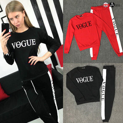 2017 Women Tracksuit Hoodies Sweatshirt Jogging Pants Set Sport Wear Casual Suit
