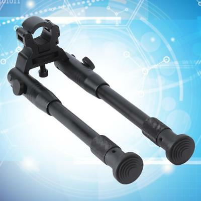 Portable Adjustable Height Retractable Clamp On Bipod Mount Tactical Bipod@MW