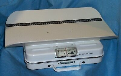 Health-O-Meter 50-Pound Pediatric Baby Tray Scale - Healthometer 386