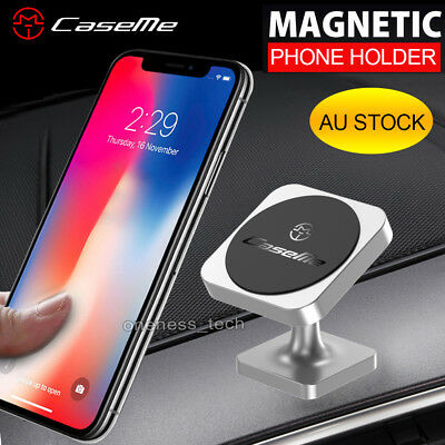 Universal Magnetic Mount Car Phone GPS Holder for iPhone 8 Plus 6 7 Samsung Sony
