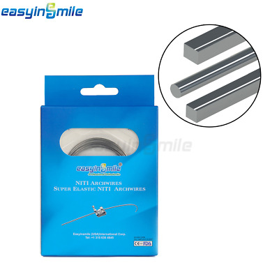 Easyinsmile Orthodontic Super Elastic Niti Arch Wire 200 Wire UpperLower Natural