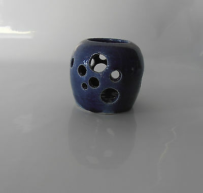 Blue Circles Ocean Inspired Vase By Australian Artist Travis Collins