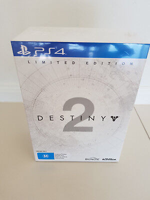 Destiny 2 Limited Edition - for PS4 - Brand New - for Collectors