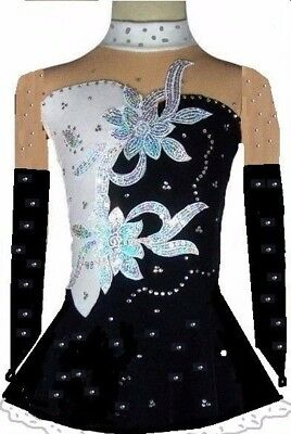Robe de patinage artistique robe de roller de danse Acrobatic Rock'n'Roll