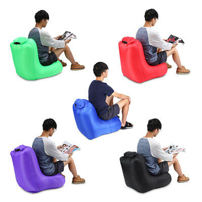 IPRee® 190T Polyester 120x60x48cm Air Inflatable Chair Sofa Portable Water-resis