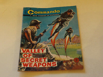 Commando War Comic Number 98,1963 Issue,v Good For Age,54 Years Old,very Rare.
