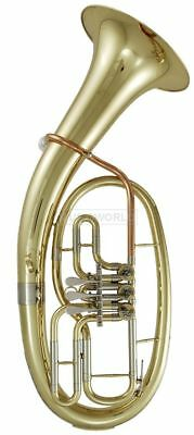 Roy Benson TH-202 in B Tenorhorn - Messing lackiert