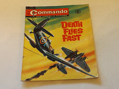 Commando War Comic Number 184,1965 Issue,v Good For Age,52 Years Old,very Rare.